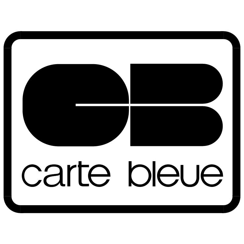 Carte Bleue vector