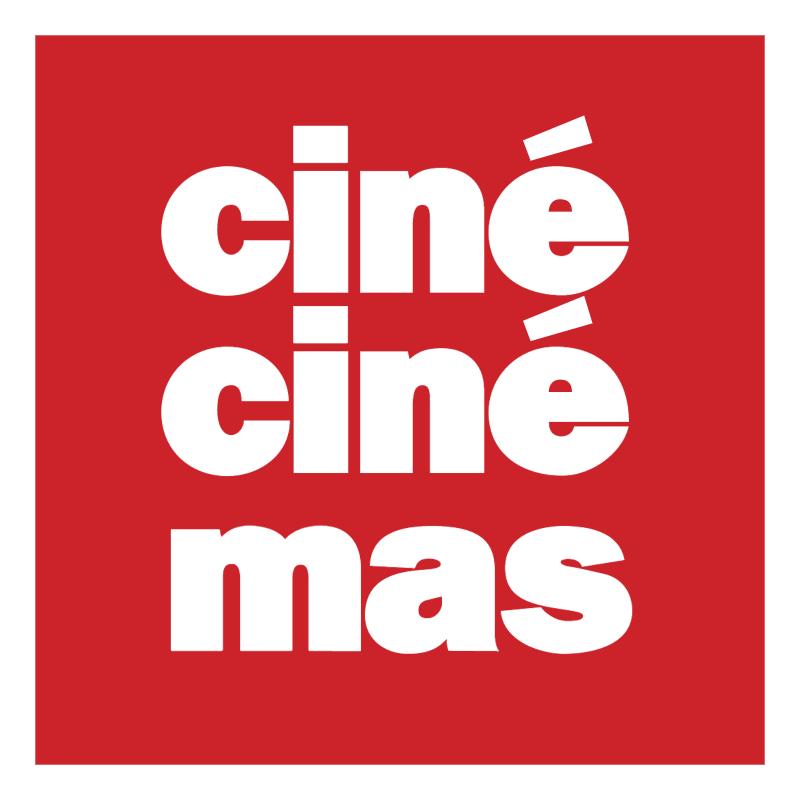 Cine Cine Mas vector