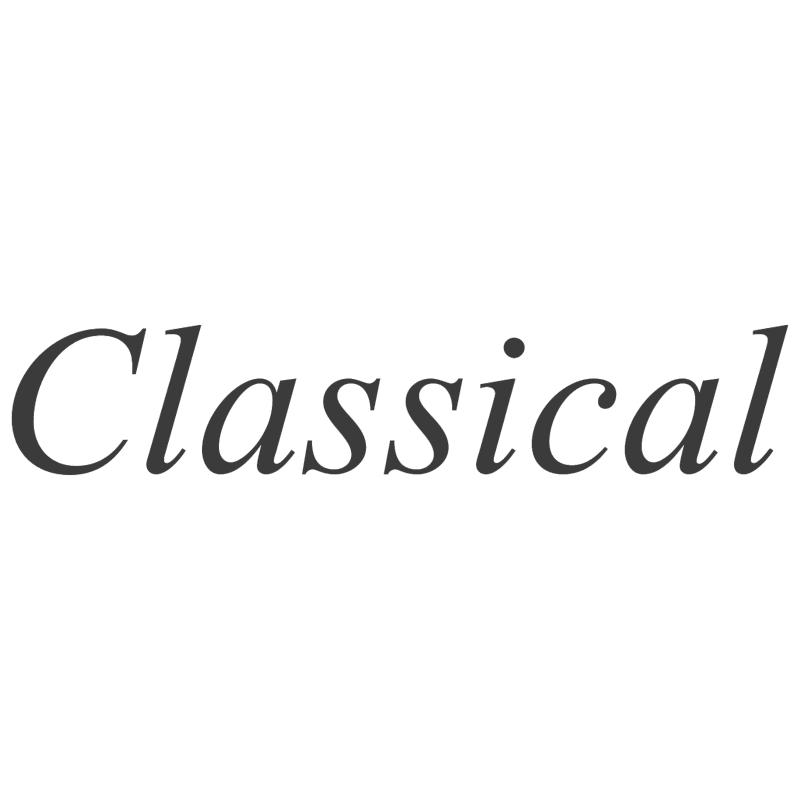Classical vector logo