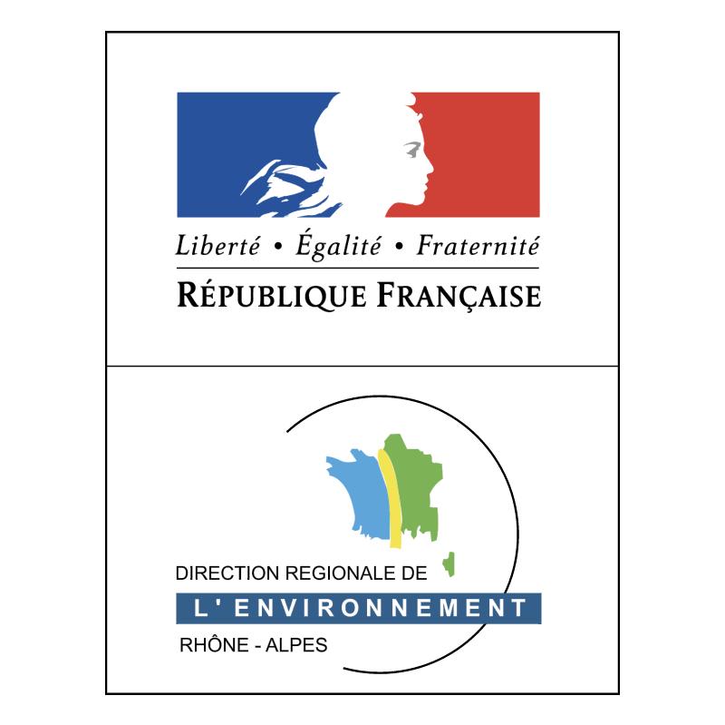Direction Regionale de l'Environnement Rhone Alpes vector