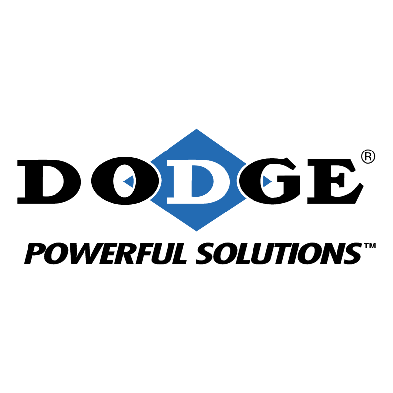 Dodge Powerful Solutions vector