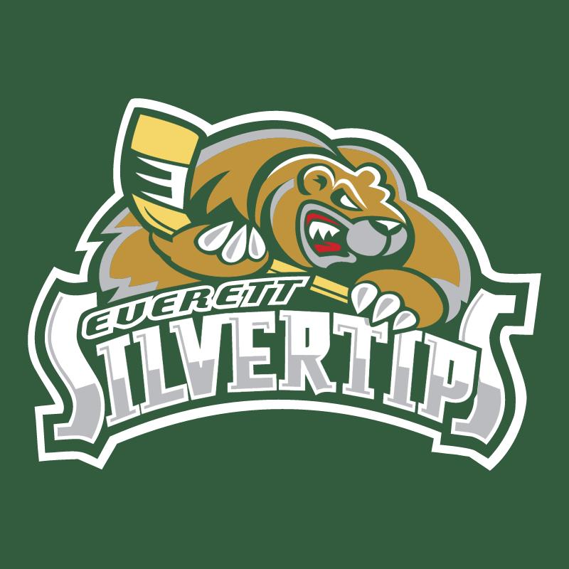 Everett Silvertips vector