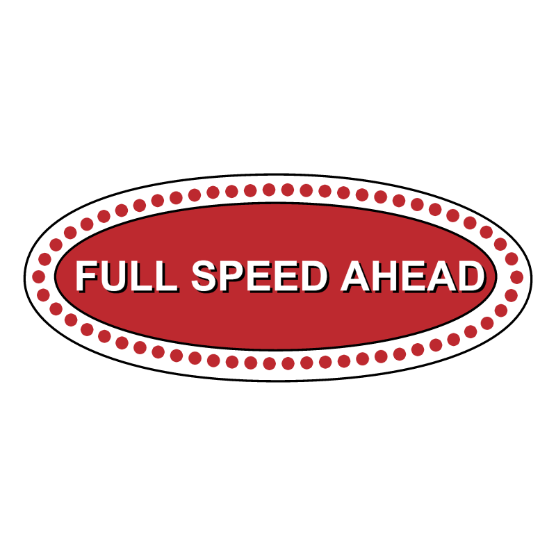 Full Speed Ahead vector