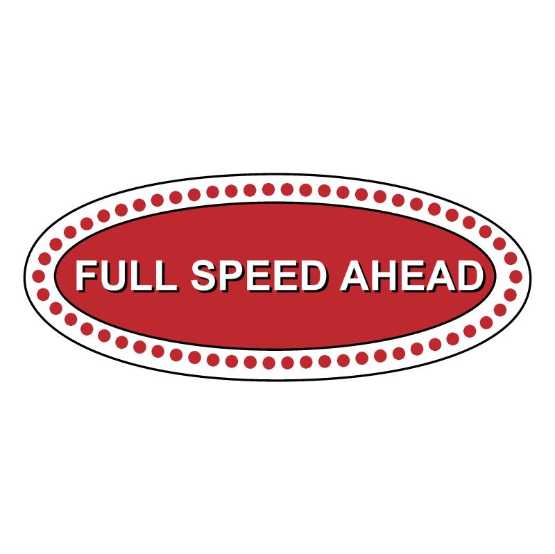 Full Speed Ahead vector