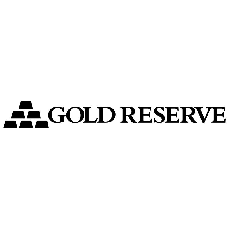 Gold Reserve vector logo