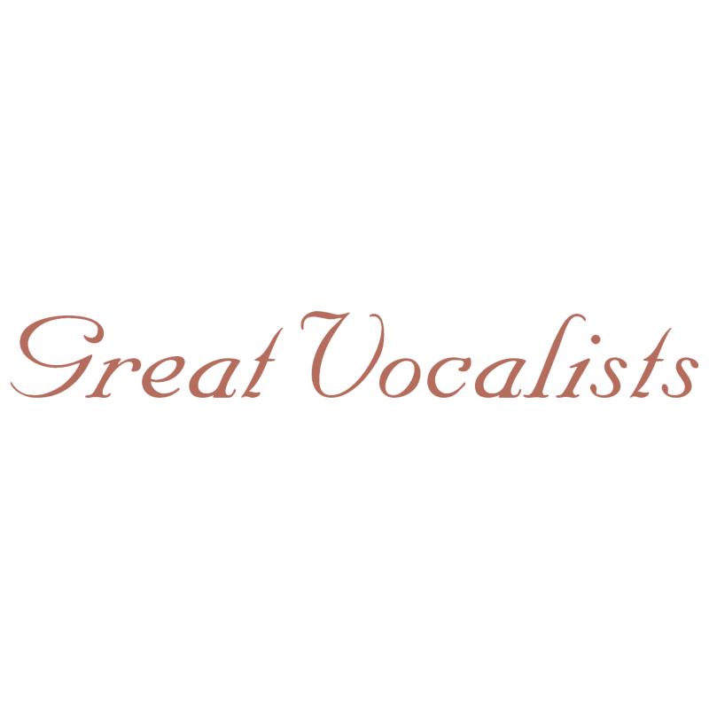 Great Vocalists vector logo