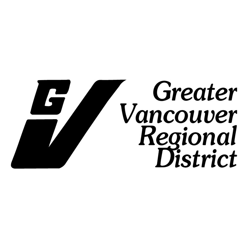 Greater Vancouver Regional District vector
