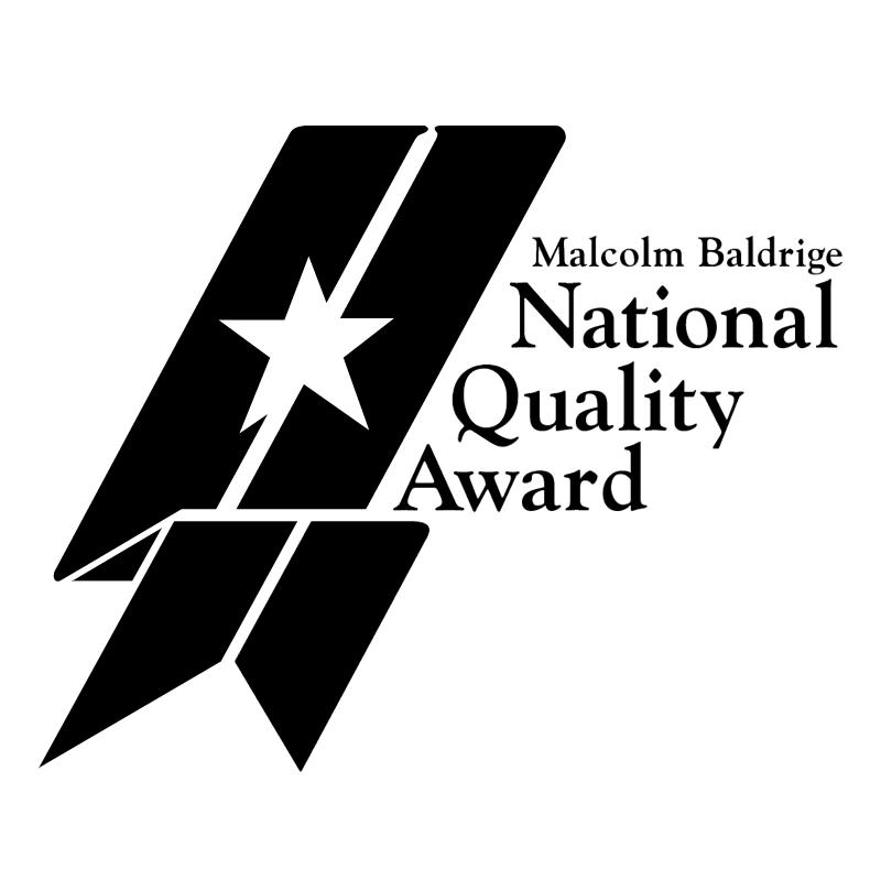 Malcolm Baldridge National Quality Award vector