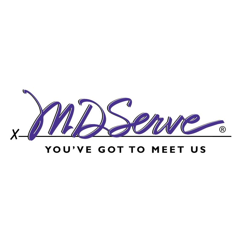 MDServe vector logo
