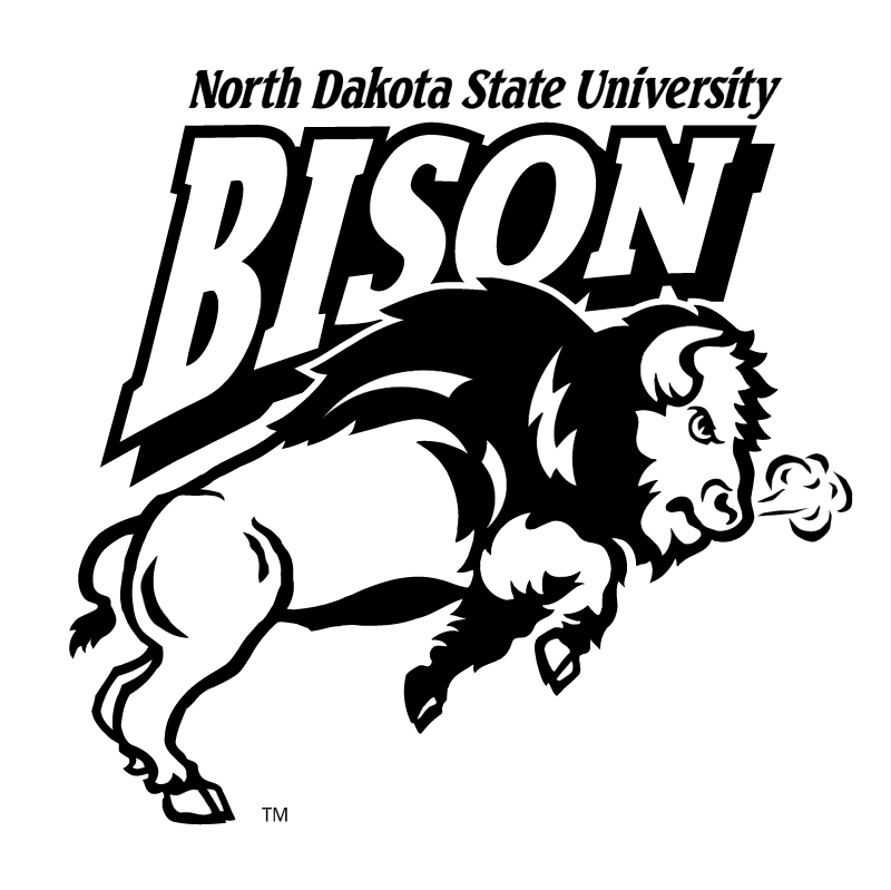 NDSU Bison vector logo