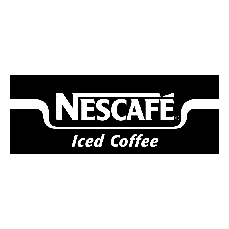 Nescafe Iced Coffee vector