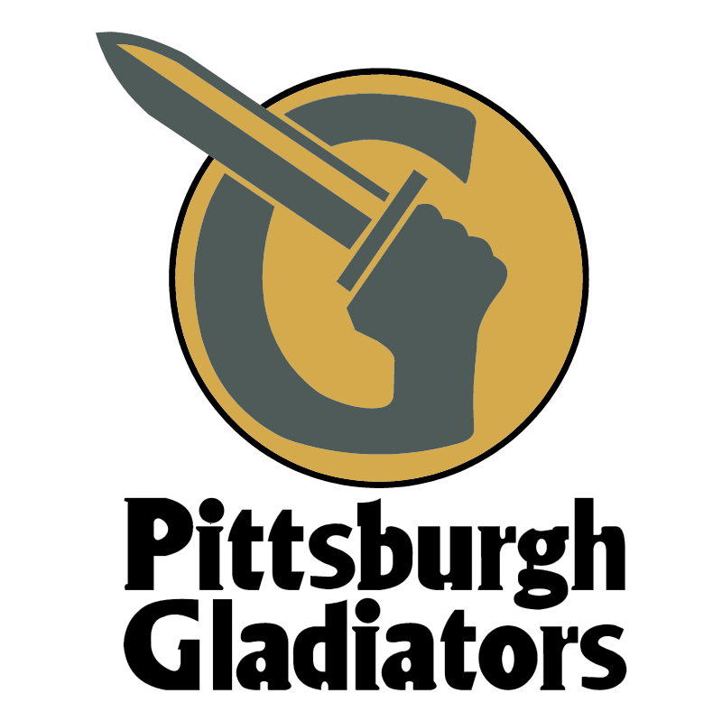 Pittsburgh Gladiators vector