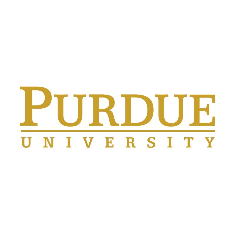 Purdue University vector