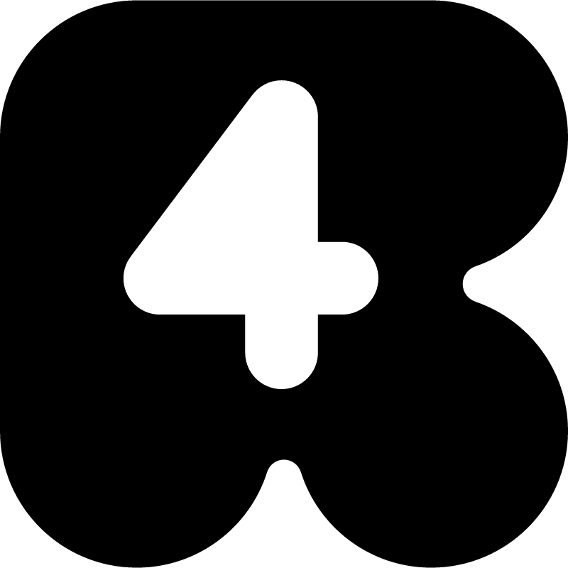 Rete 4 vector logo