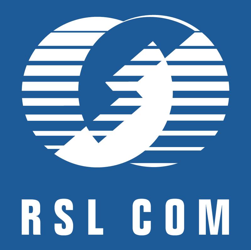RSL Communications vector logo