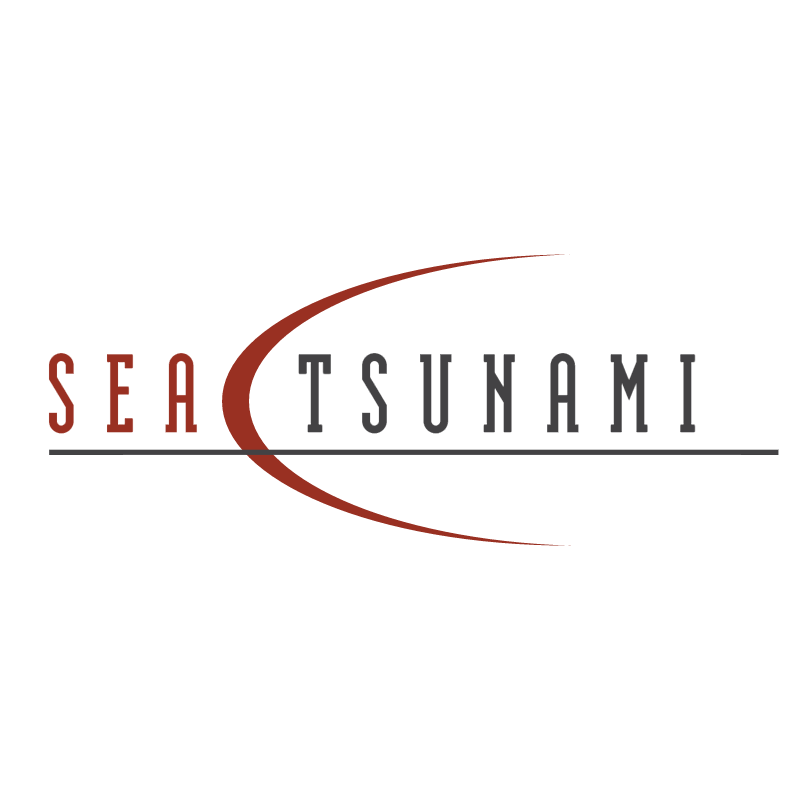 Sea Tsunami vector