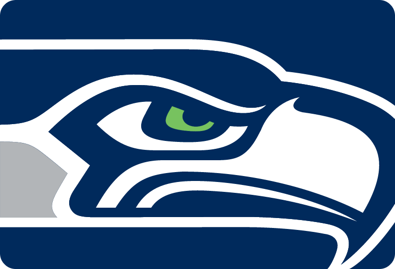 Seahawks icon vector