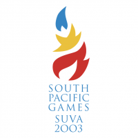 South Pacific Games Suva 2003 vector