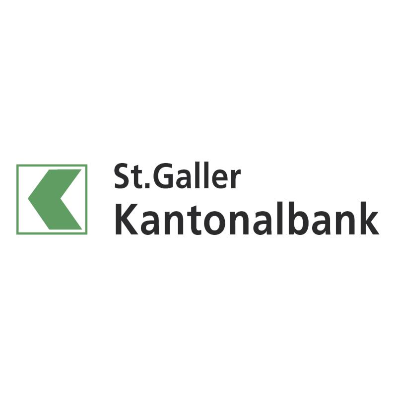 St Galler Kantonalbank vector