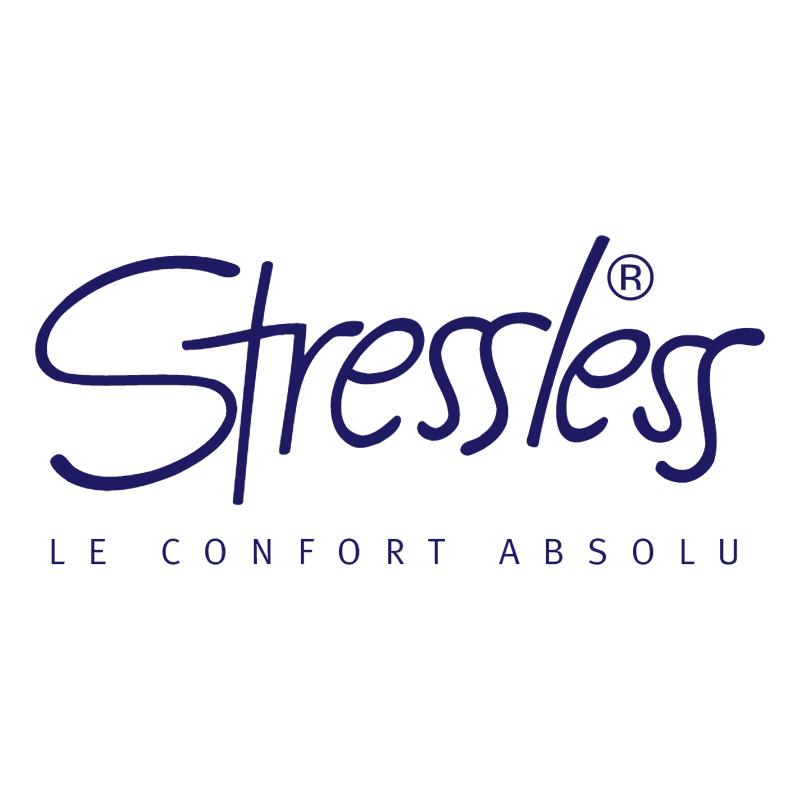 Stressless vector logo