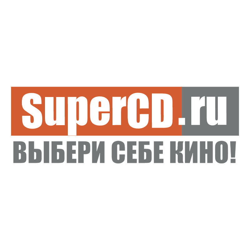 SuperCD vector logo