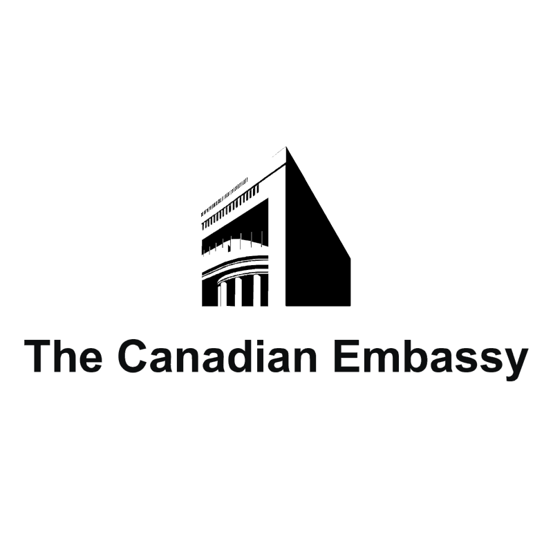 The Canadian Embassy vector