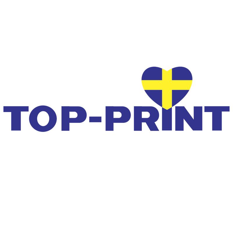 Top Print vector logo
