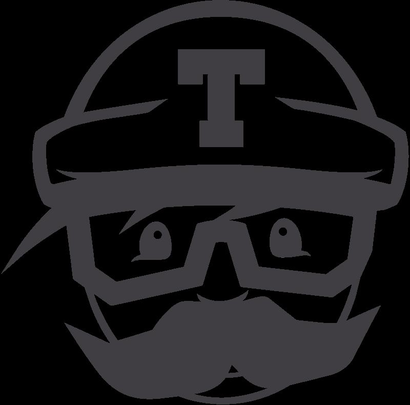 Travis CI icon vector