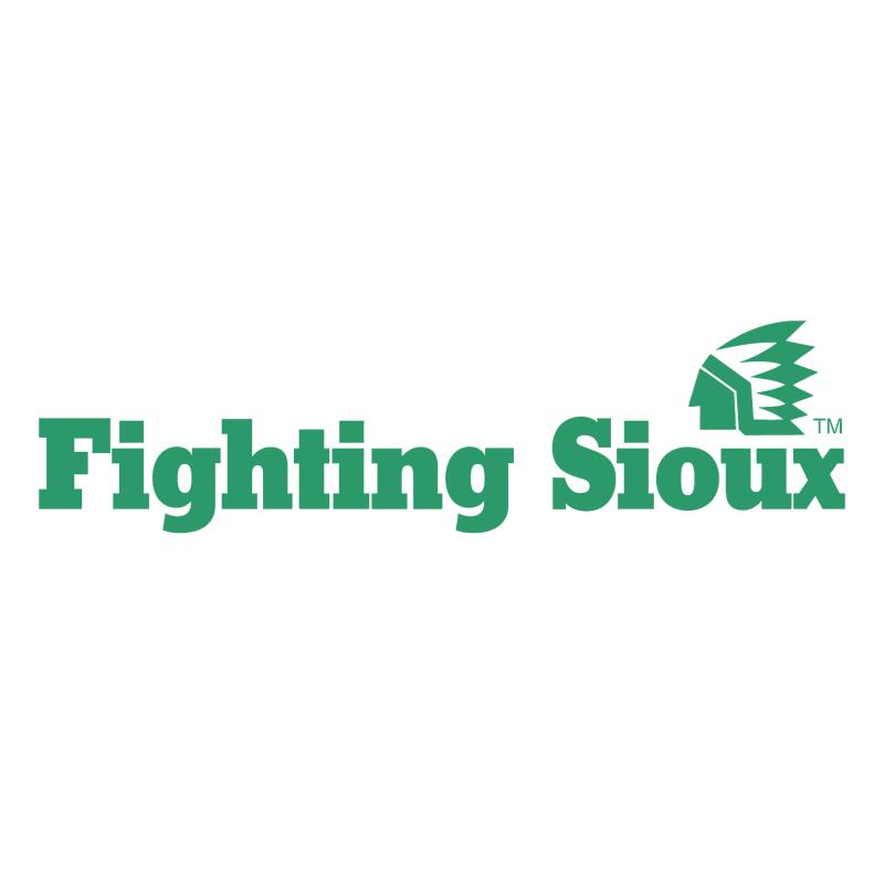 UND Fighting Sioux vector logo
