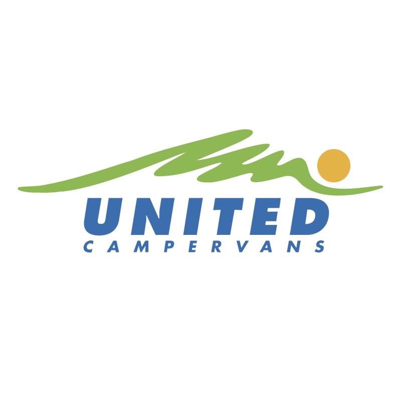 United Campervans vector logo