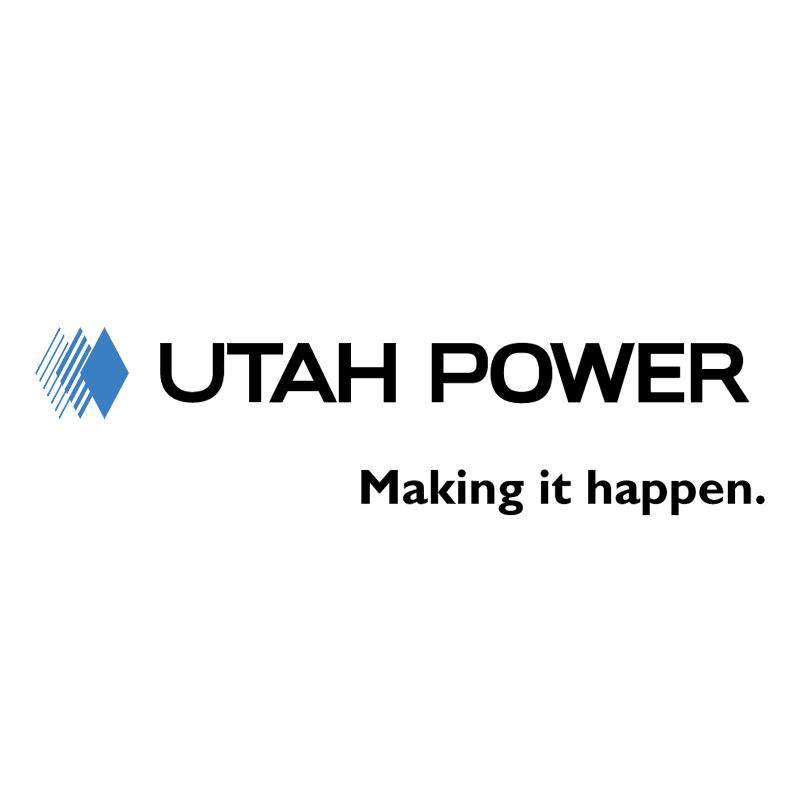 Utah Power vector logo