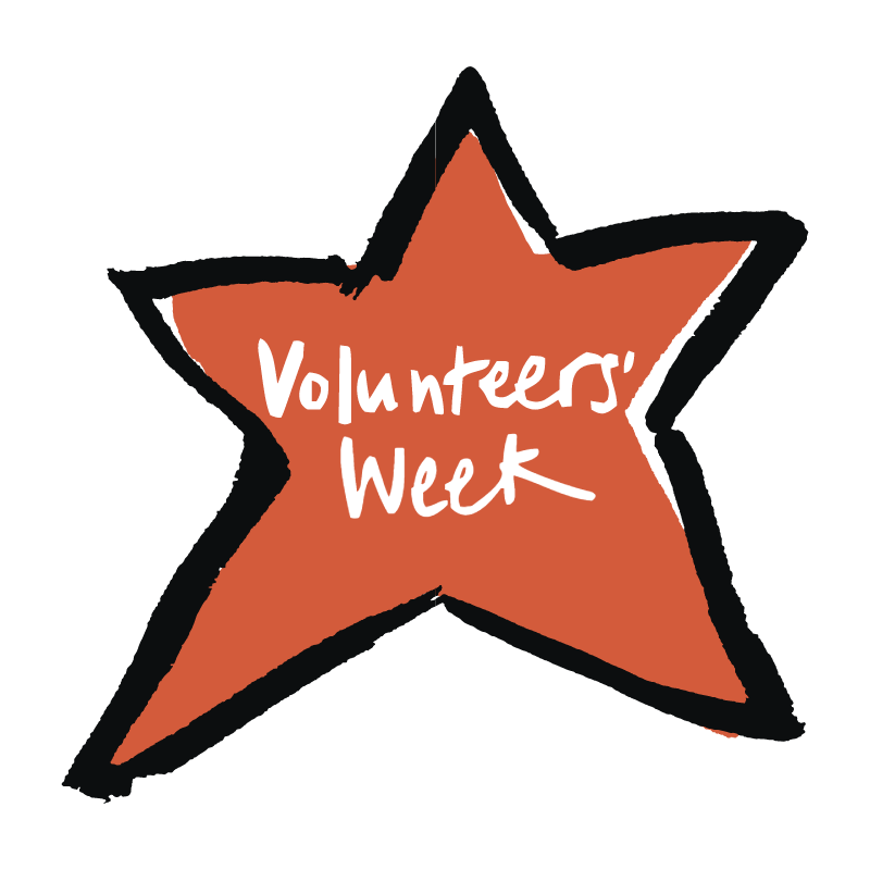 Volunteers' Week vector logo
