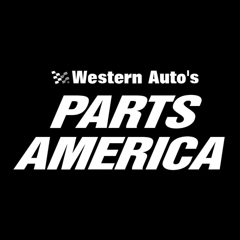 Western Auto's Parts America vector