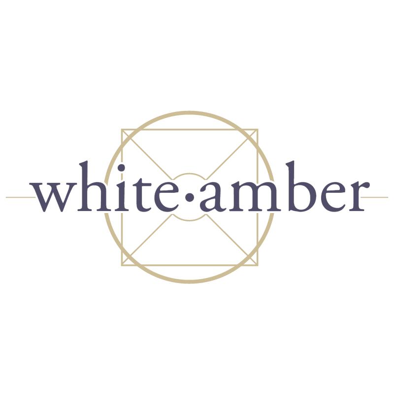 White Amber vector
