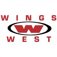 Wings West vector
