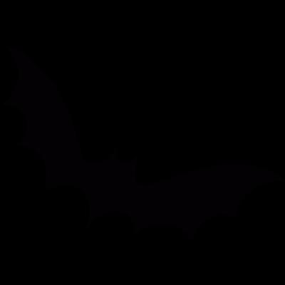 Flying bat vector logo