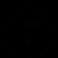 Sportive chronometer vector