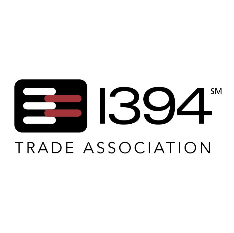 1394 Trade Association vector logo