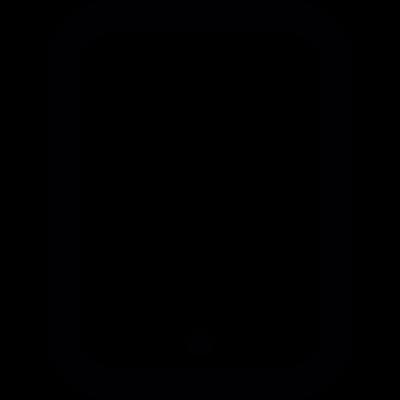Tablet Back Part vector logo