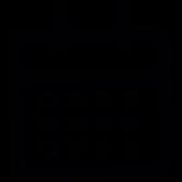 Draw Calendar vector