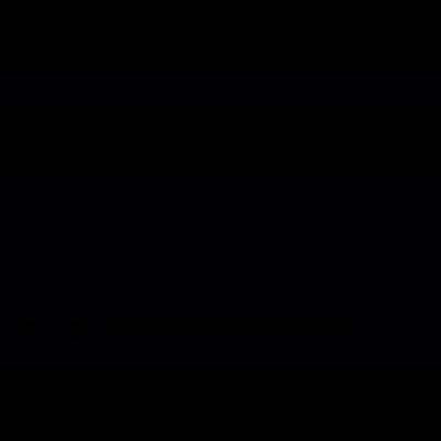 Rectangular Credit card vector logo