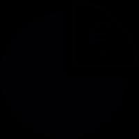 Euro Pie Chart vector