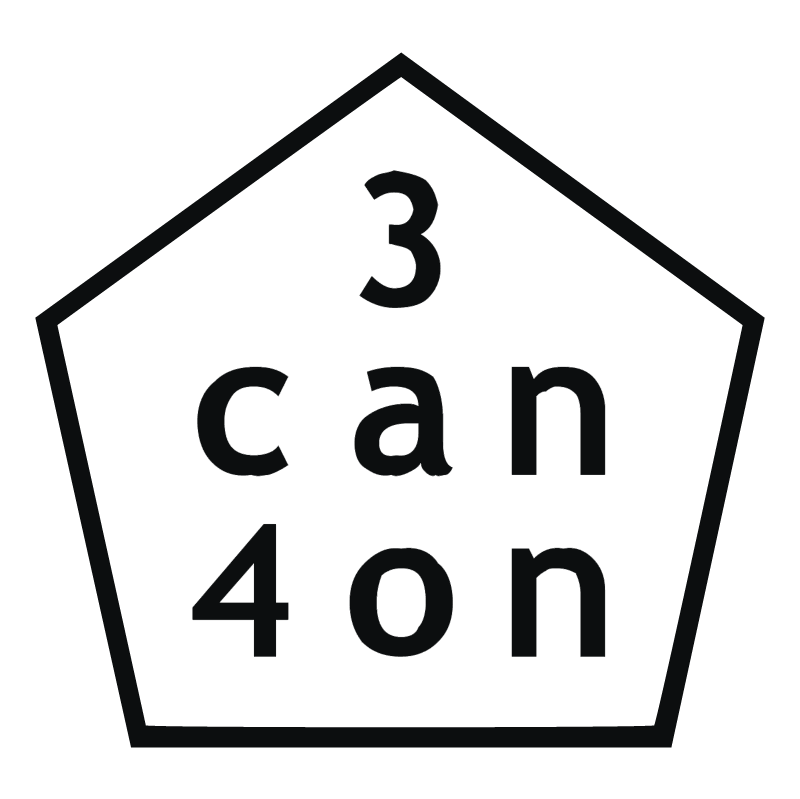 3 can 4 on vector