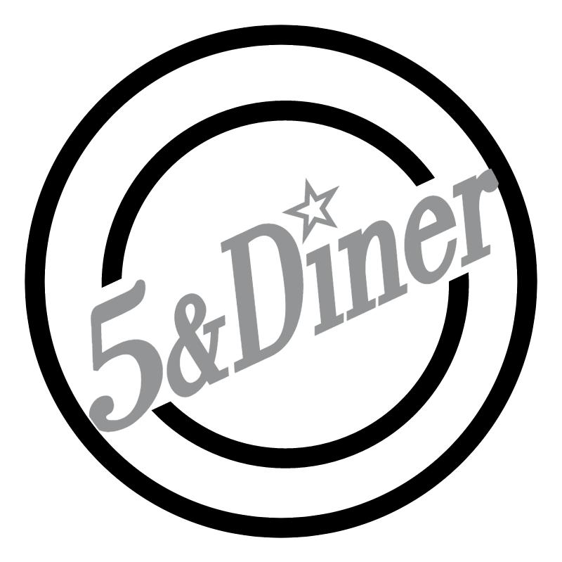 5 & Diner vector