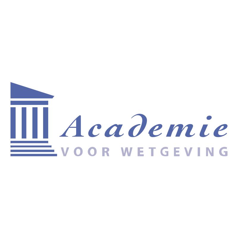Academie voor Wetgeving vector