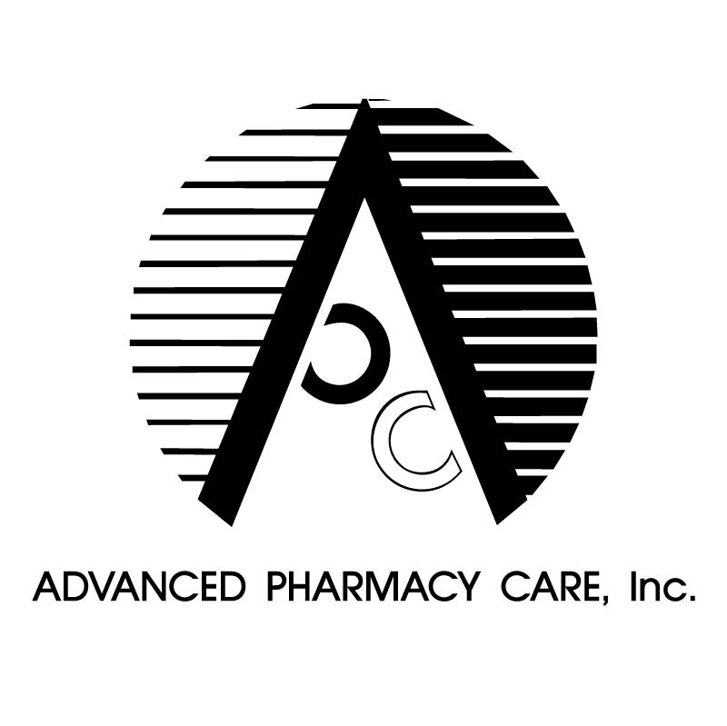 Advanced Pharmacy Care 84709 vector logo