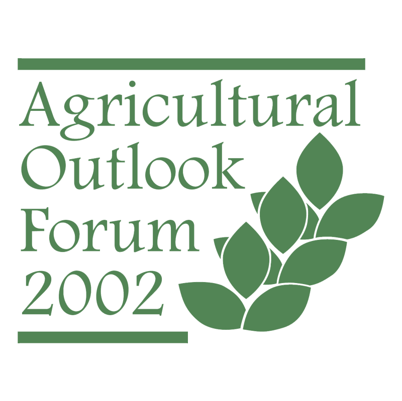 Agricultural Outlook Forum 53779 vector