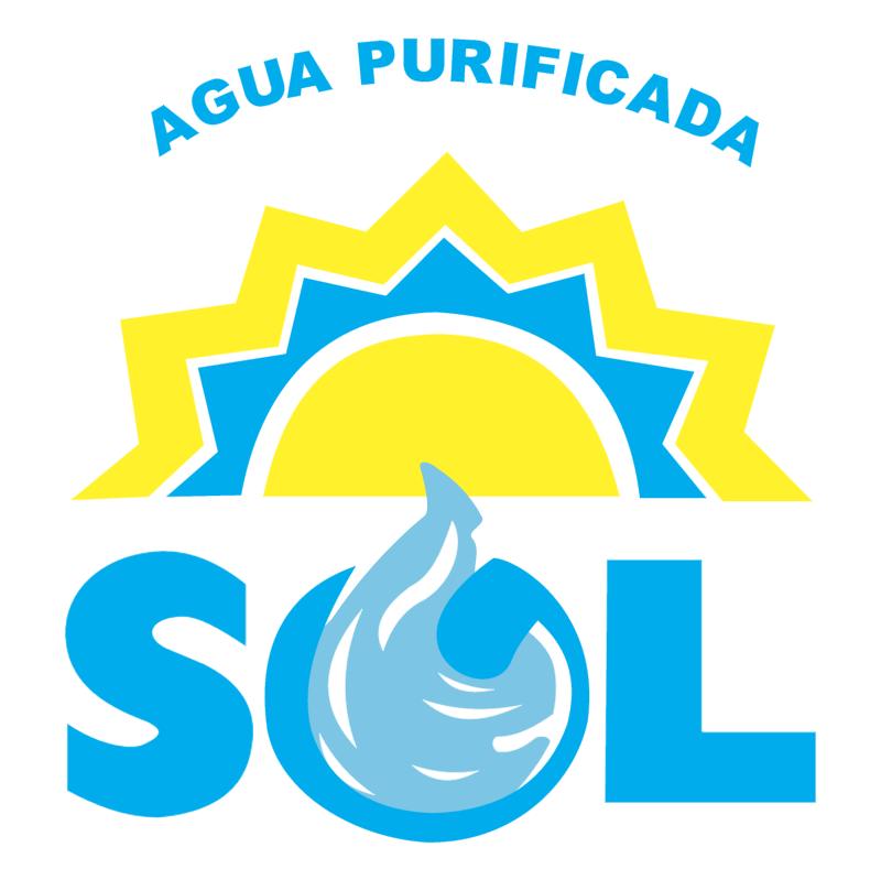 Agua Sol vector
