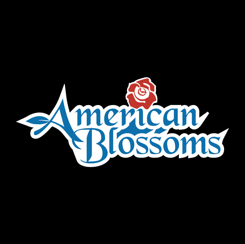 American Blossoms vector