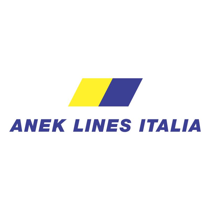 Anek Lines Italia vector